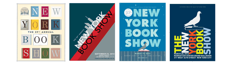 Posters for the New York Book Show